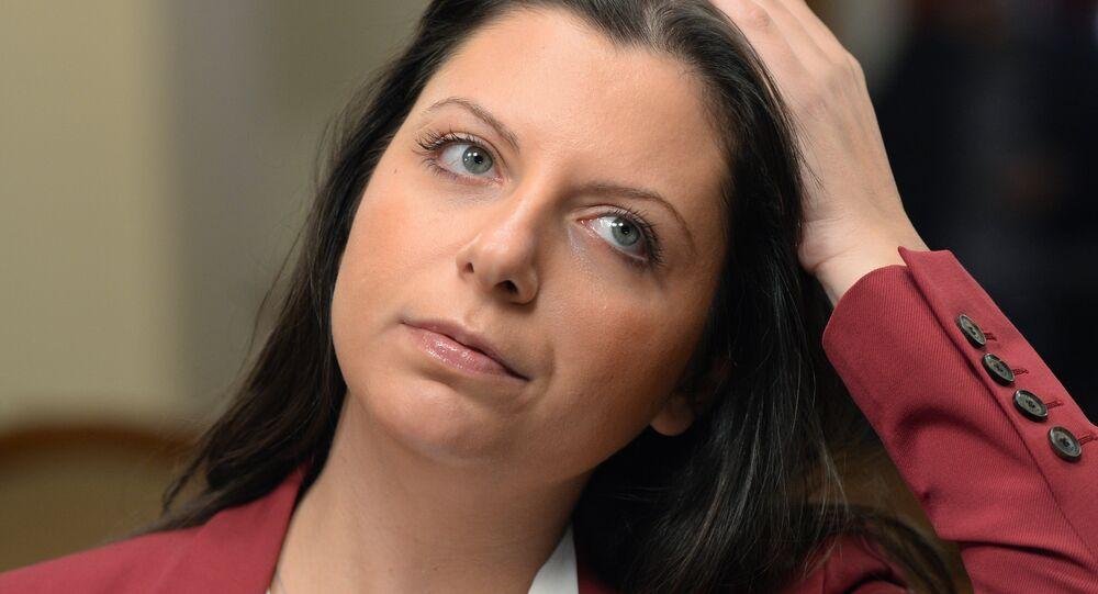 Editora-chefe da agência de notícias Sputnik, Margarita Simonyan