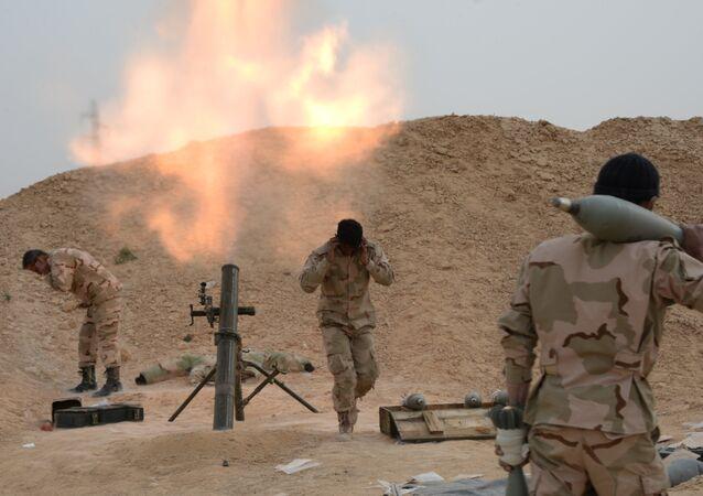 Exército sírio e milícia em combates pela cidade de Palmira