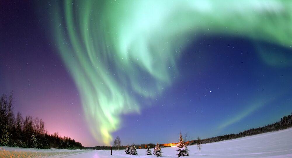 Aurora boreal, Alasca