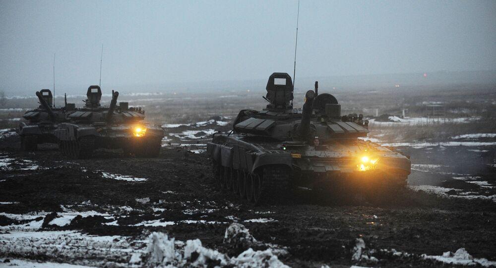 Exercícios militares na região de Rostov