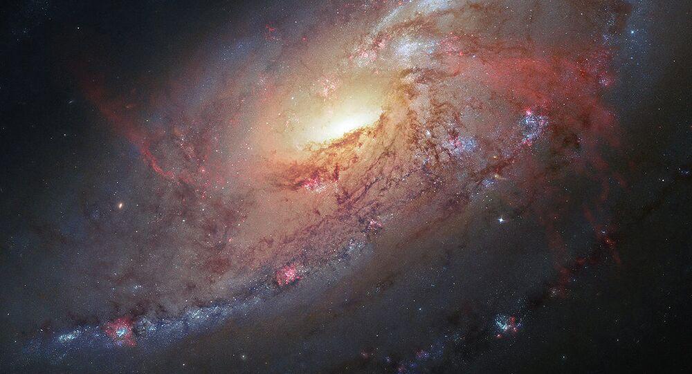 Galáxia espiral M106