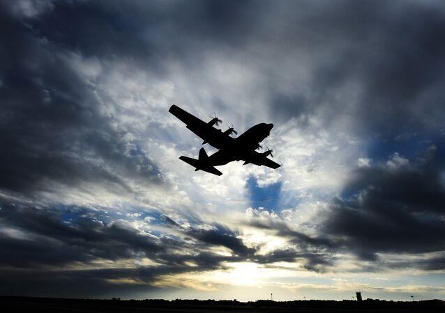 Avião C-130 Hercules da Força Aérea dos EUA