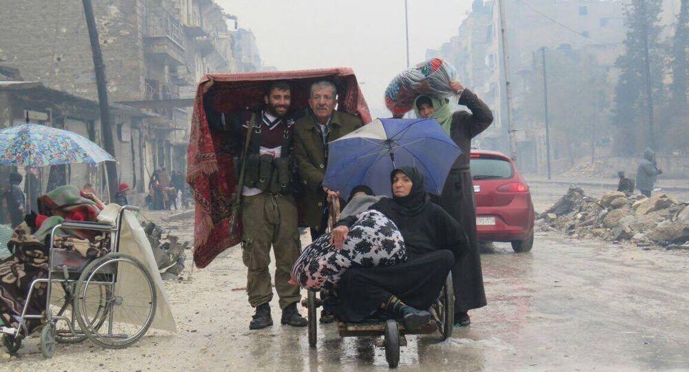 Civis voltam para Aleppo