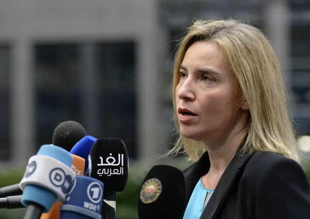 A Alta Representante da UE para Política Externa e Segurança, Federica Mogherini