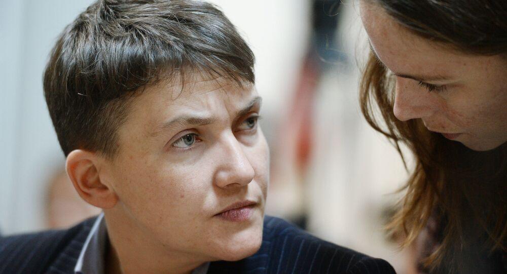 Interrogatório da N. Savchenko no Tribunal de Kiev