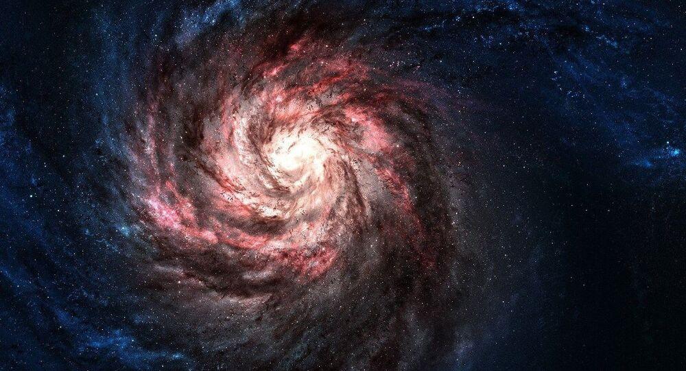 Visão artística de galáxia (foto de arquivo)