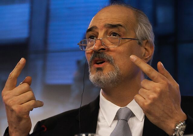 Bashar al-Jaafari, embaixador da Síria para a ONU