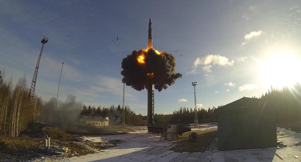 Rússia celebra o Dia da Força Estratégica de Mísseis