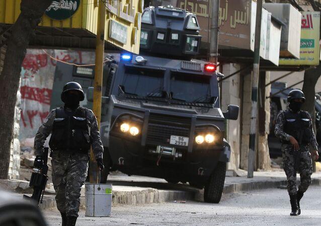 Polícia jordaniana