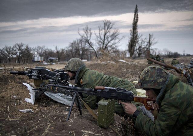 A situação na região de Lugansk