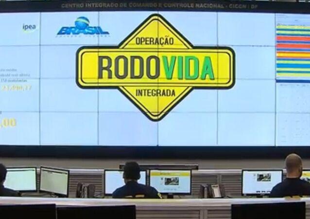 PRF inicia operação Rodovida