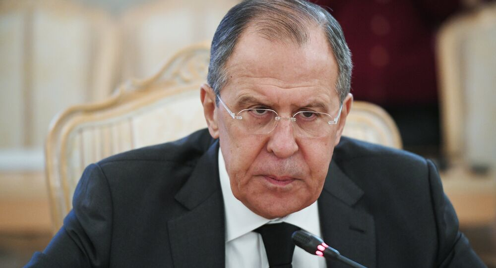 O ministro das Relações Exteriores russo, Sergei Lavrov