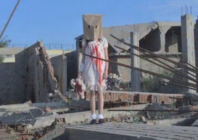 Falsa vítima em Aleppo