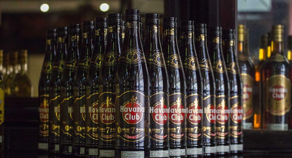 Rum cubano, foto de arquivo