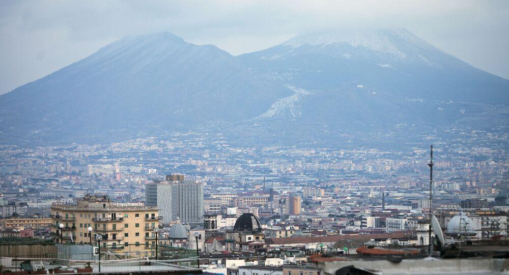 Vista da cidade de Nápoles, na região italiana da Campânia (arquivo)