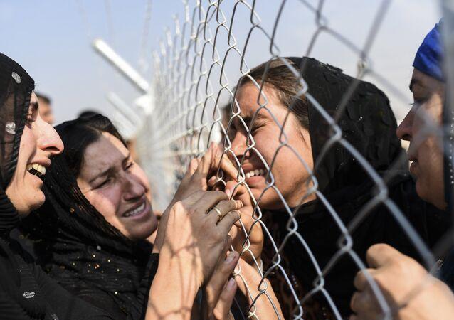 Mulheres em Mossul (arquivo)