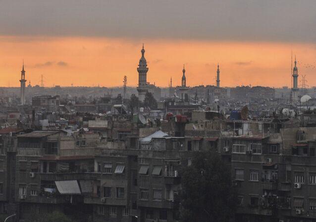 Amanhecer em Damasco (imagem referencial)