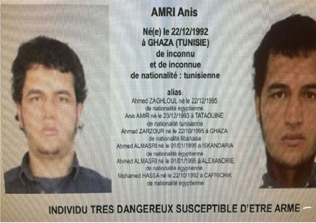 Anis Amri, sospechoso de perpetrar el ataque terrorista en Berlín