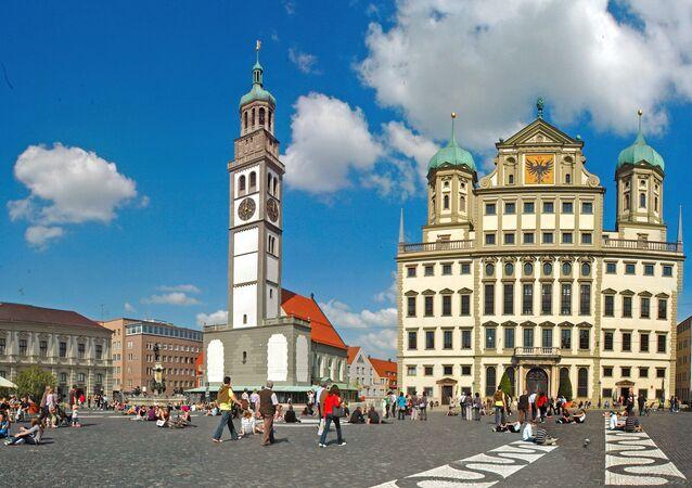 Augsburg, no sul da Alemanha
