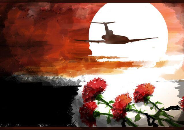 Neste domingo (25), o avião Tu-154 do Ministério da Defesa russo com destino à Síria caiu no mar Negro