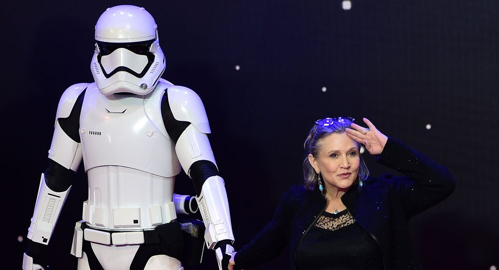 Atriz de Star Wars Carrie Fisher