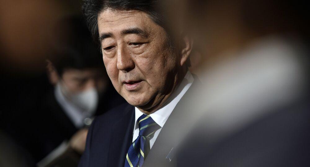 Shinzo Abe, primeiro ministro do Japão (arquivo)