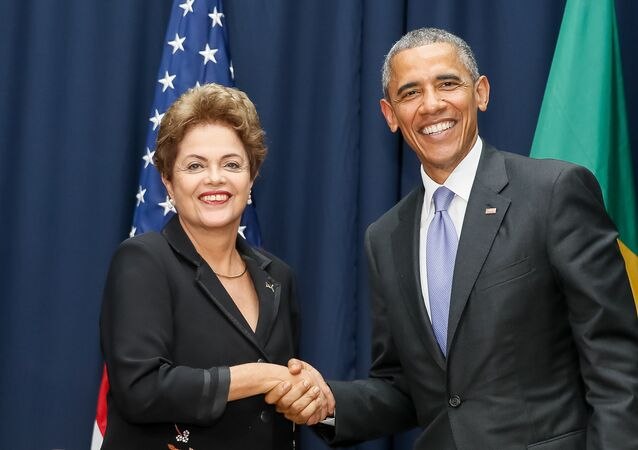 Dilma Rousseff e Barack Obama se reúnem na VII Cúpula das Américas
