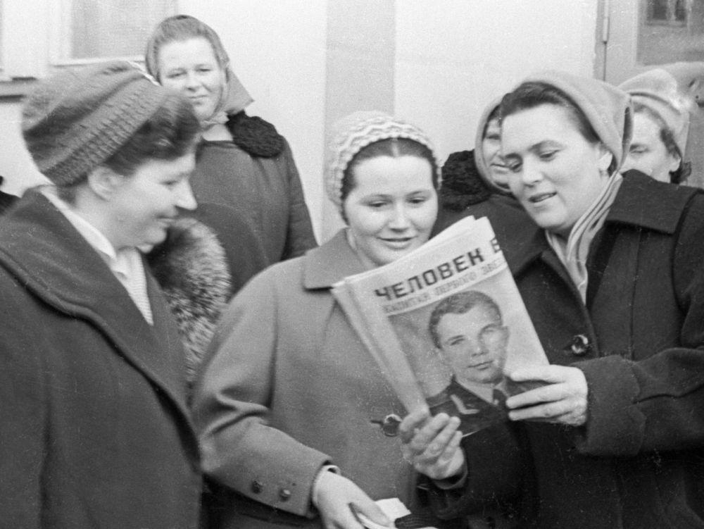 Valentina, a esposa do primeiro cosmonauta Yuri Gagarin