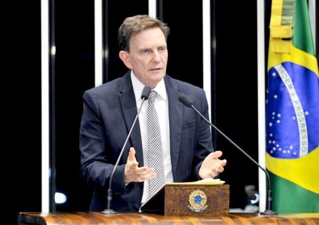 Marcelo Crivella, prefeito do Rio de Janeiro (arquivo)