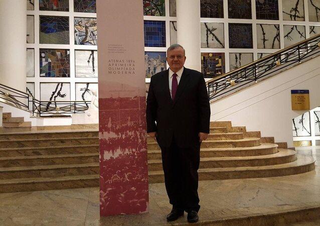 O embaixador da Grécia no Brasil, Kyriakos Amiridis