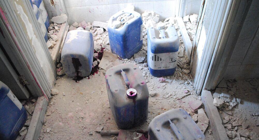Fábrica de armas químicas em Aleppo (foto de arquivo)