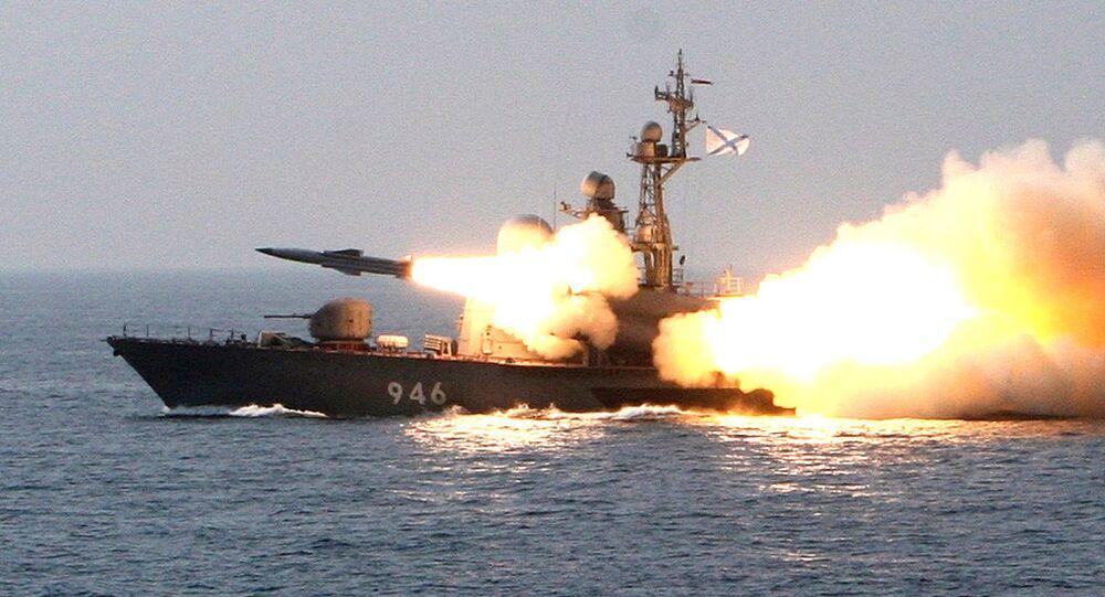 Barco torpedeiro da Marinha russa (arquivo)
