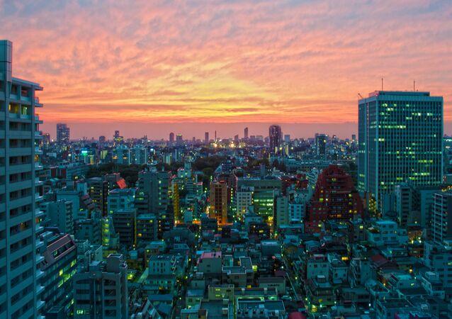 Noite em Tóquio, Japão