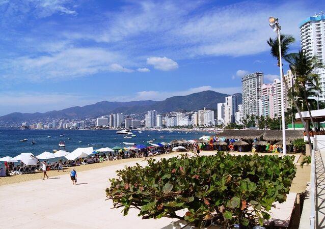 Acapulco de Juárez, estado de Guerrero, sudoeste do México (arquivo)