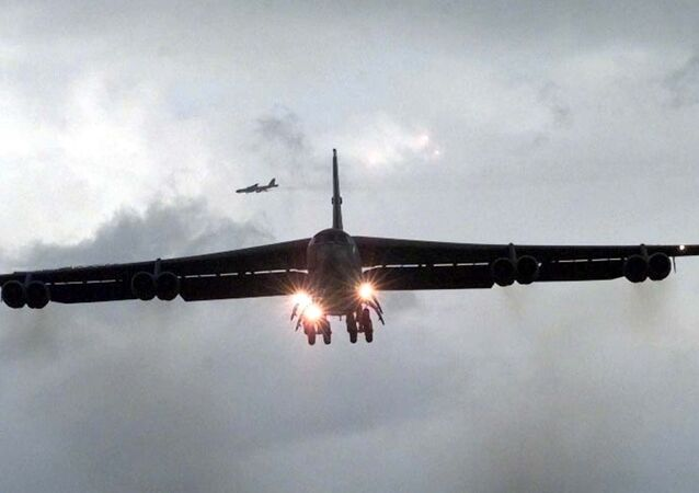 Bombardeiro estratégico americano B-52