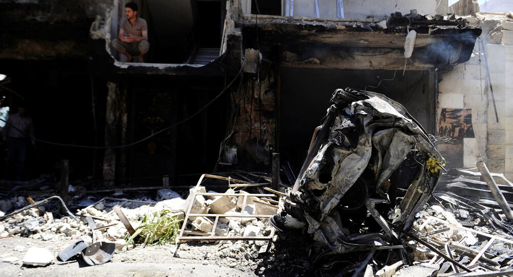 Explosão em Damasco (arquivo)