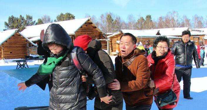 VIagens de chineses pela Sibéria