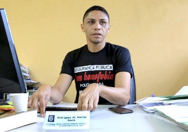 Rodrigues de Amorim Souza, Secretário do Grupo Estadual de Combate aos Crimes de Homofobia