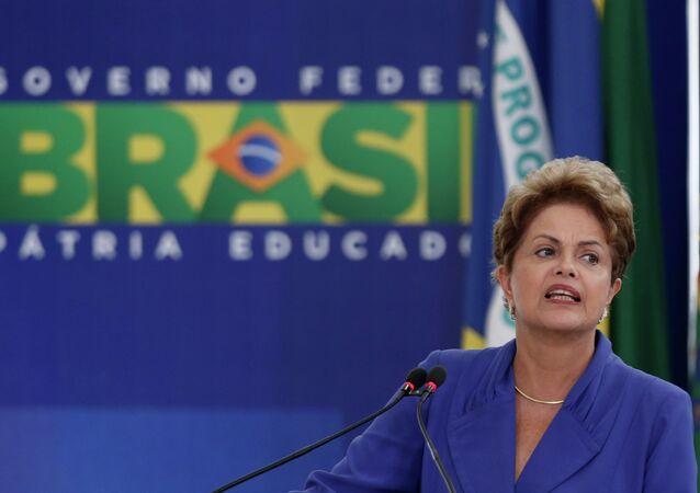 President do Brasil Dilma Rousseff