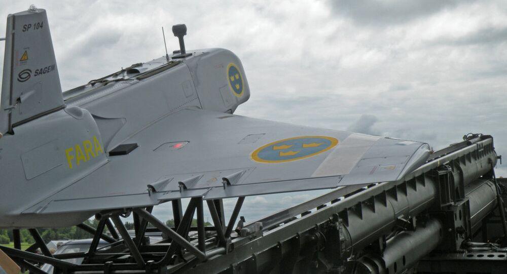 Imagem de drone da Suécia