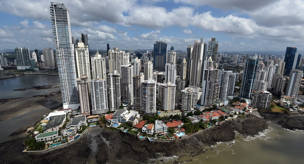 Vista aérea da Cidade do Panamá