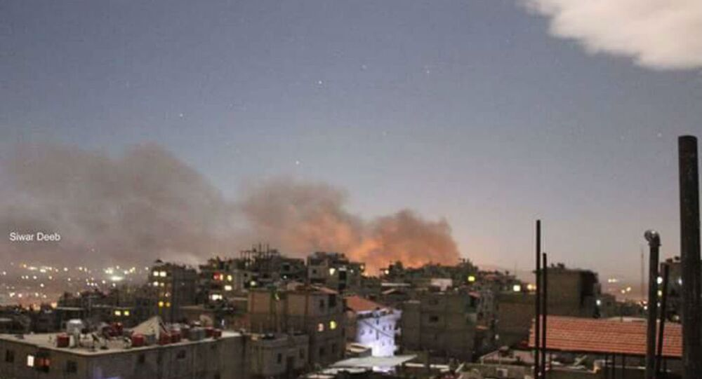 Explosões em Damasco