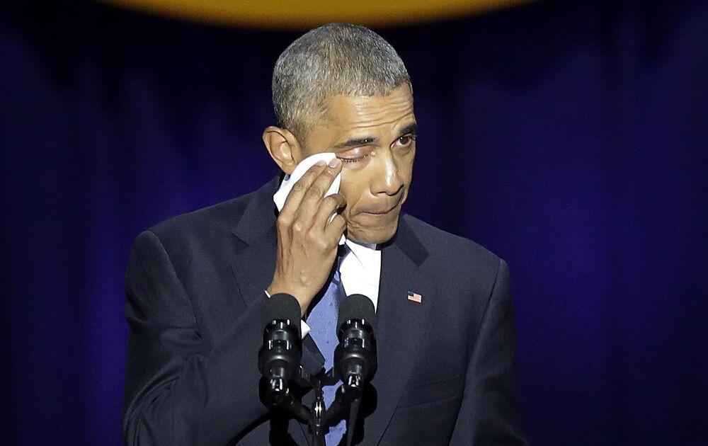Presidente Barack Obama apresenta seu último discurso