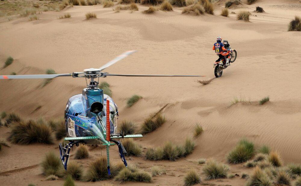 A 7ª etapa de Rally Dakar na Bolívia