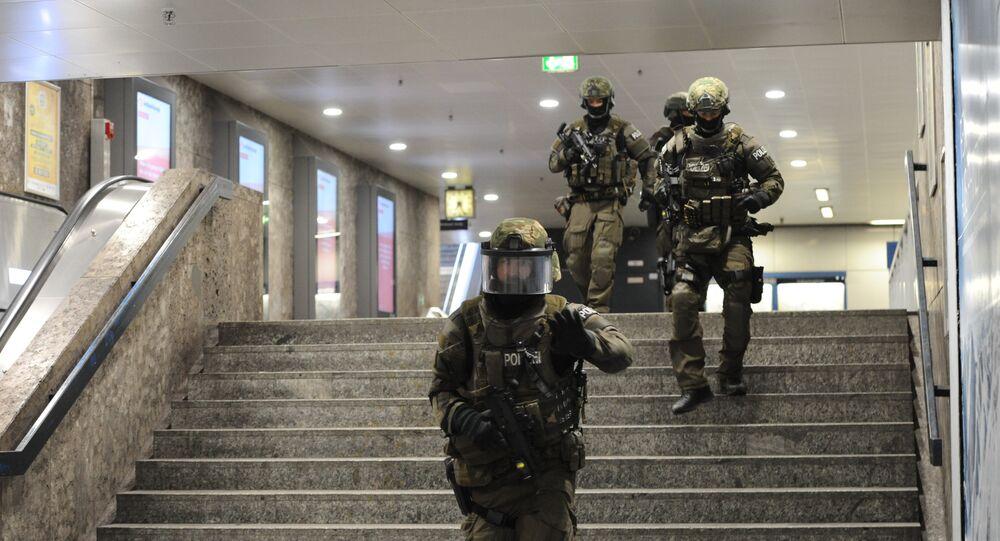 Policiais da Alemanha