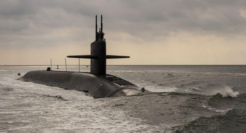 Submarino norte-americano (imagem referencial)
