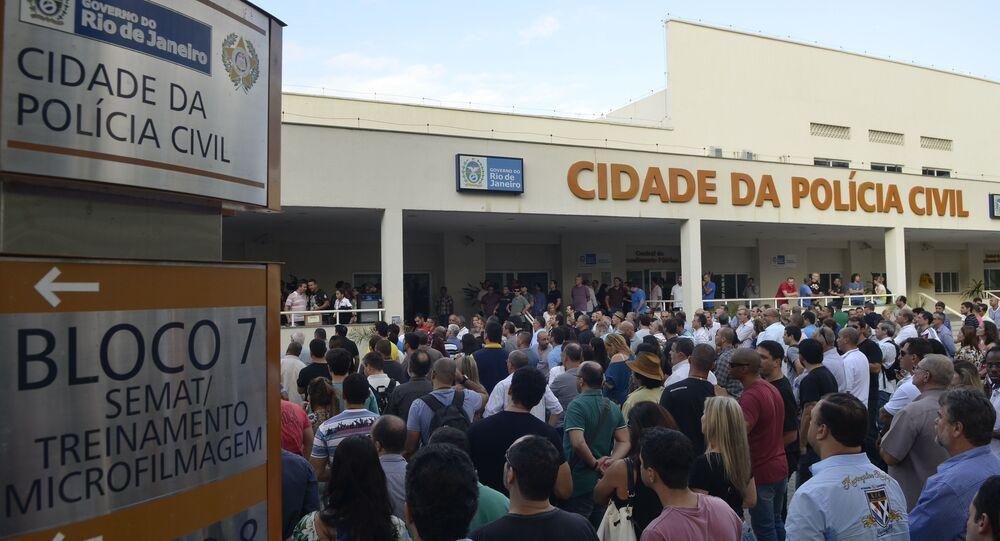Polícia Civil do Rio entra em greve