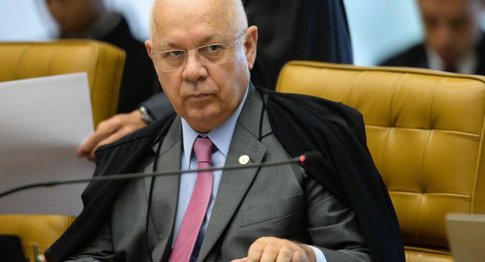 Ex-ministro do STF Teori Zavascki