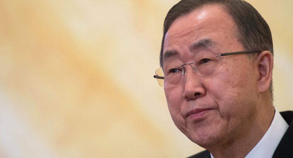 Ex-secretário-geral da ONU, Ban Ki-moon