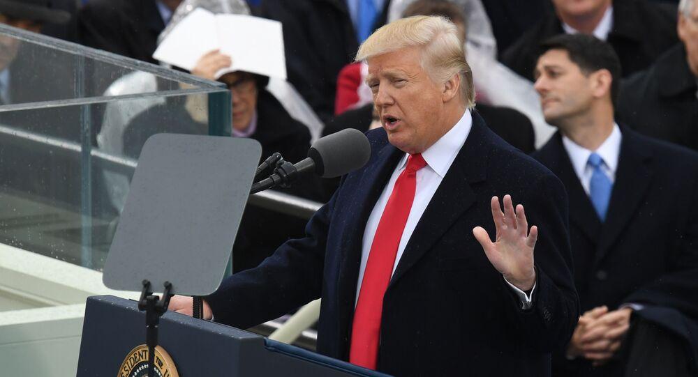 Cerimônia solene da tomada de posse de Donald Trump